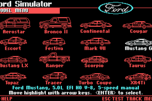 The Ford Simulator 2