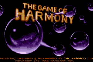 The Game of Harmony 0