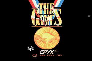 The Games: Winter Edition 1
