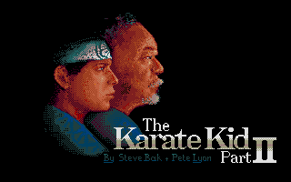 The Karate Kid: Part II - The Computer Game 0