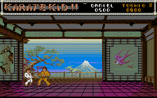 The Karate Kid: Part II - The Computer Game 1