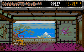 The Karate Kid: Part II - The Computer Game 3