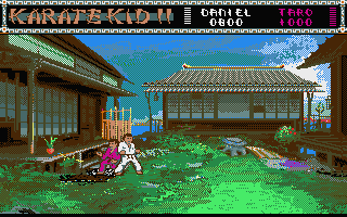 The Karate Kid: Part II - The Computer Game 4