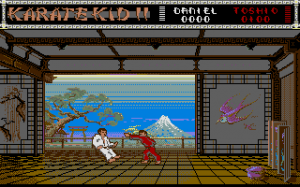 The Karate Kid: Part II - The Computer Game abandonware