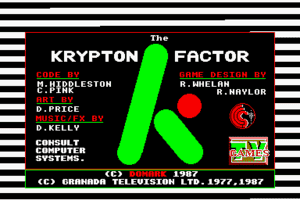 The Krypton Factor 0