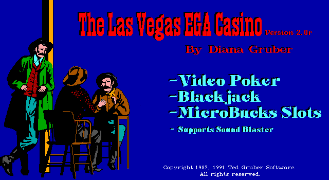 The Las Vegas EGA Casino (Version 2.0) 0
