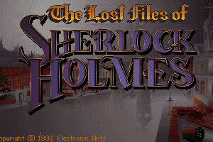 The Lost Files of Sherlock Holmes 0