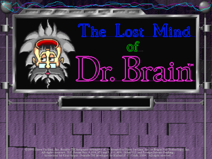 The Lost Mind of Dr. Brain 0