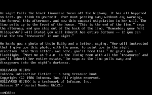 The Lost Treasures of Infocom II abandonware