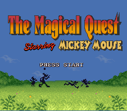 The Magical Quest Starring Mickey Mouse 0