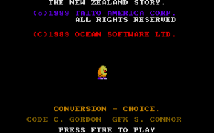 The New Zealand Story 1