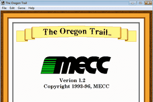 The Oregon Trail 1.2 for Windows 0