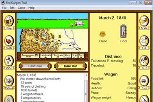 The Oregon Trail 1.2 for Windows 2