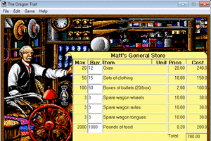 The Oregon Trail 1.2 for Windows 5