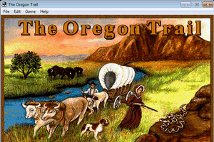 The Oregon Trail 1.2 for Windows 7