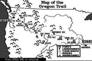 The Oregon Trail abandonware