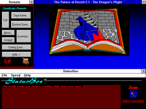 The Palace of Deceit: the Dragon's Plight abandonware