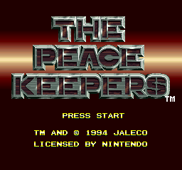 The Peace Keepers 1