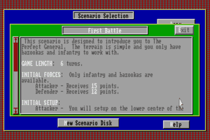 The Perfect General abandonware
