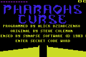 The Pharaoh's Curse 0