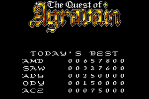 The Quest of Agravain 1