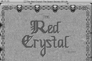 The Red Crystal: The Seven Secrets of Life 6