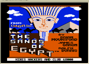 The Sands of Egypt abandonware
