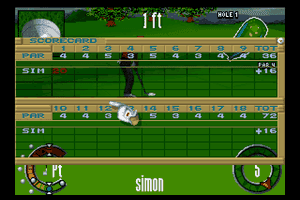 The Scottish Open: Virtual Golf 18