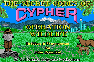 The Secret Codes of C.Y.P.H.E.R.: Operation Wildlife 0