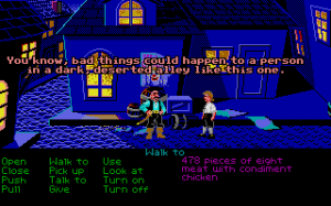 The Secret of Monkey Island 29