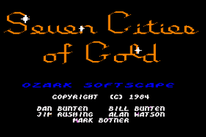 The Seven Cities of Gold 0