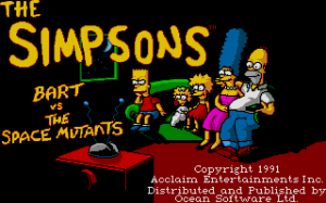 The Simpsons: Bart vs. the Space Mutants 2