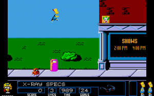 The Simpsons: Bart vs. the Space Mutants abandonware