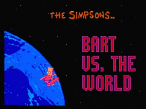 The Simpsons: Bart vs. the World 0