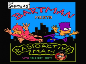 The Simpsons: Bartman Meets Radioactive Man 3