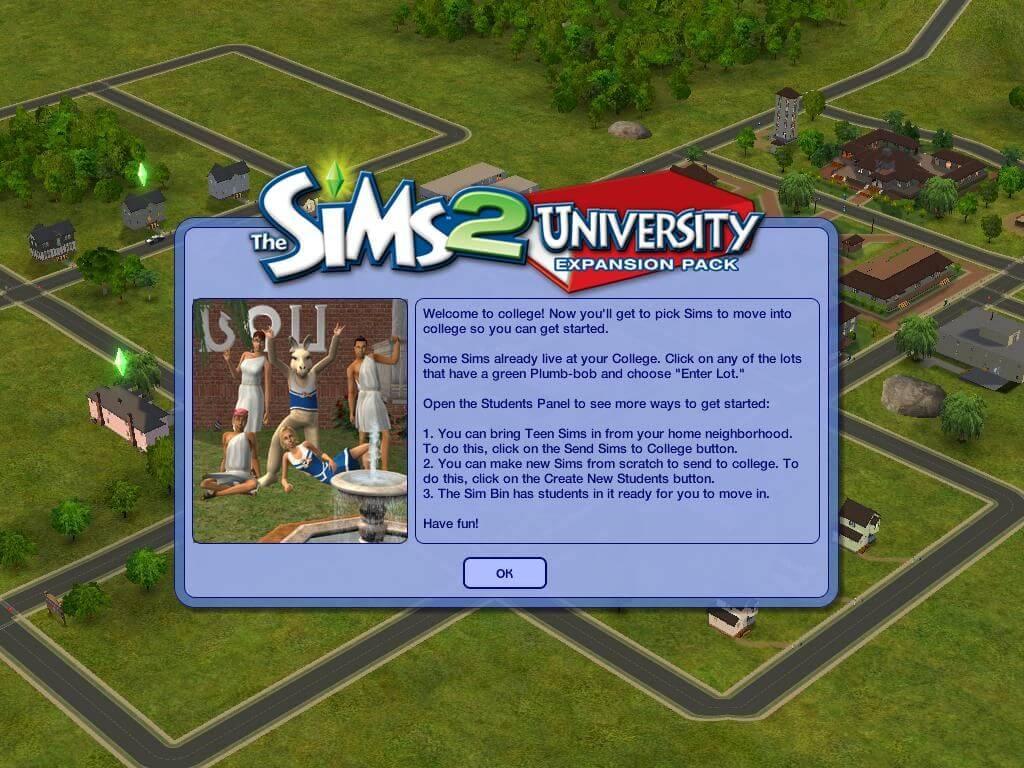 Sims 2 university game free download aruba casino and resort