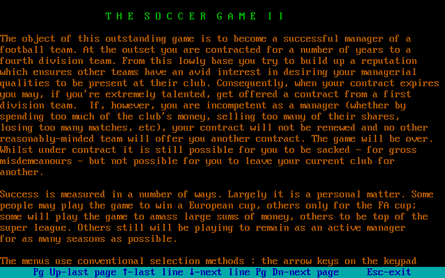 The Soccer Game II 4