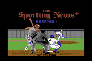 The Sporting News Baseball 0