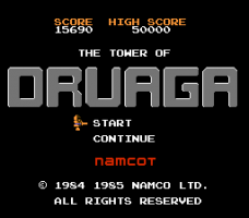 The Tower of Druaga 0