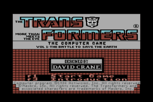 The Transformers: Battle to Save the Earth 0