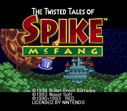 The Twisted Tales of Spike McFang 0