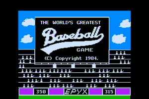 The World's Greatest Baseball Game 2