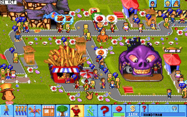 theme park abandonware