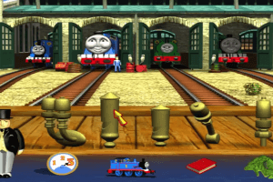 Thomas & Friends Trouble on the Tracks abandonware