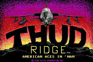 Thud Ridge: American Aces in 'Nam 0