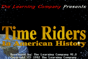 Time Riders in American History 0