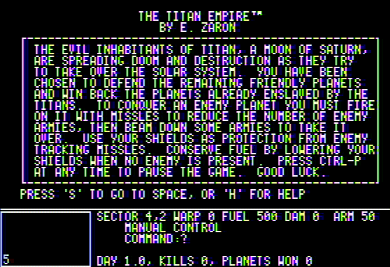 Titan Empire 1