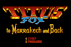 Titus the Fox: To Marrakech and Back 2