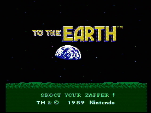 To the Earth 0