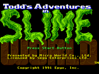 Todd's Adventures in Slime World 0